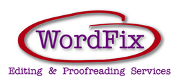 Wordfix Logo - Editing, Copyediting and Proofreading Services